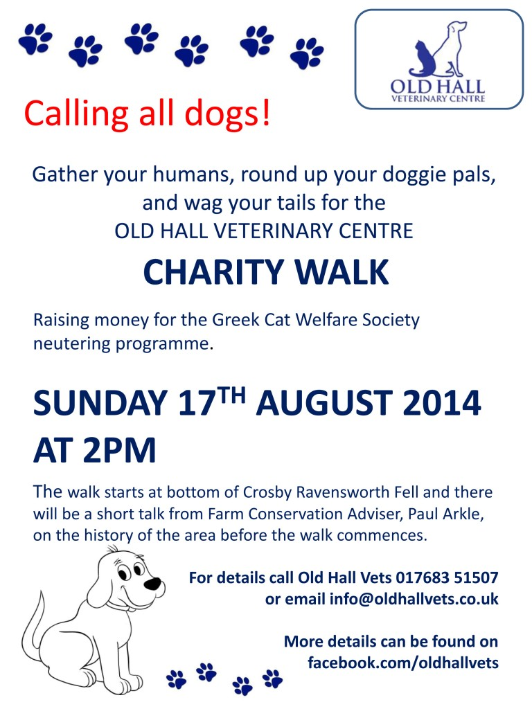 Old Hall Vets Charity Walk